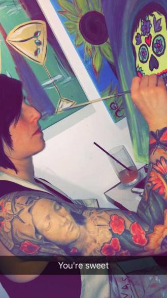 mullet tattoo